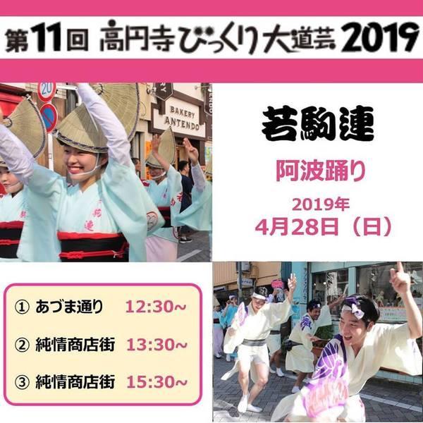 2019高円寺びっくり大道芸若駒連ポスター.jpg