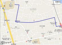 新田駅からの徒歩ルート.JPG